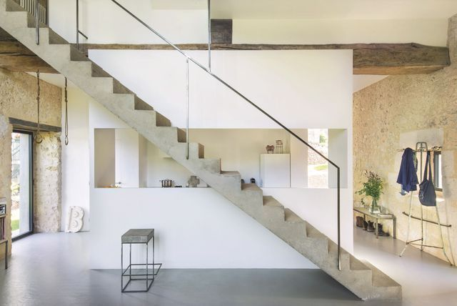 17 meilleures id es propos de escalier en beton sur for Escalier interieur maison