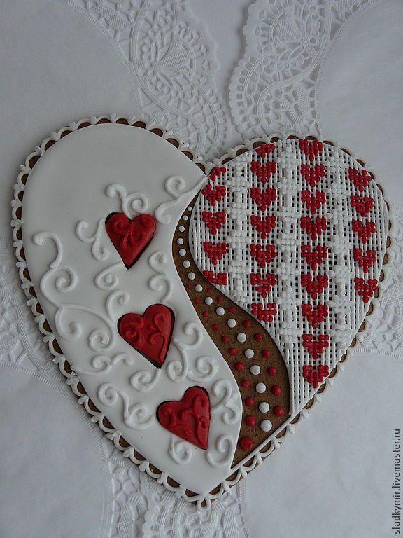 Кулинарные сувениры ручной работы. Ярмарка Мастеров - ручная работа Кружевное сердце. Handmade.