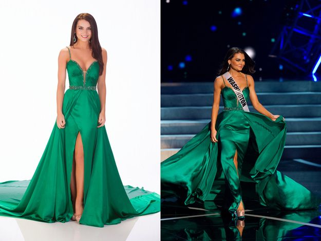 Miss Washington, Cassandra Searles. | The Definitive Ranking Of All 51 Miss USA Contestants' Evening Gowns