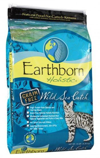 Earthborn Holistic Wild Sea Catch 6,3kg. Hinta 52,90 €.