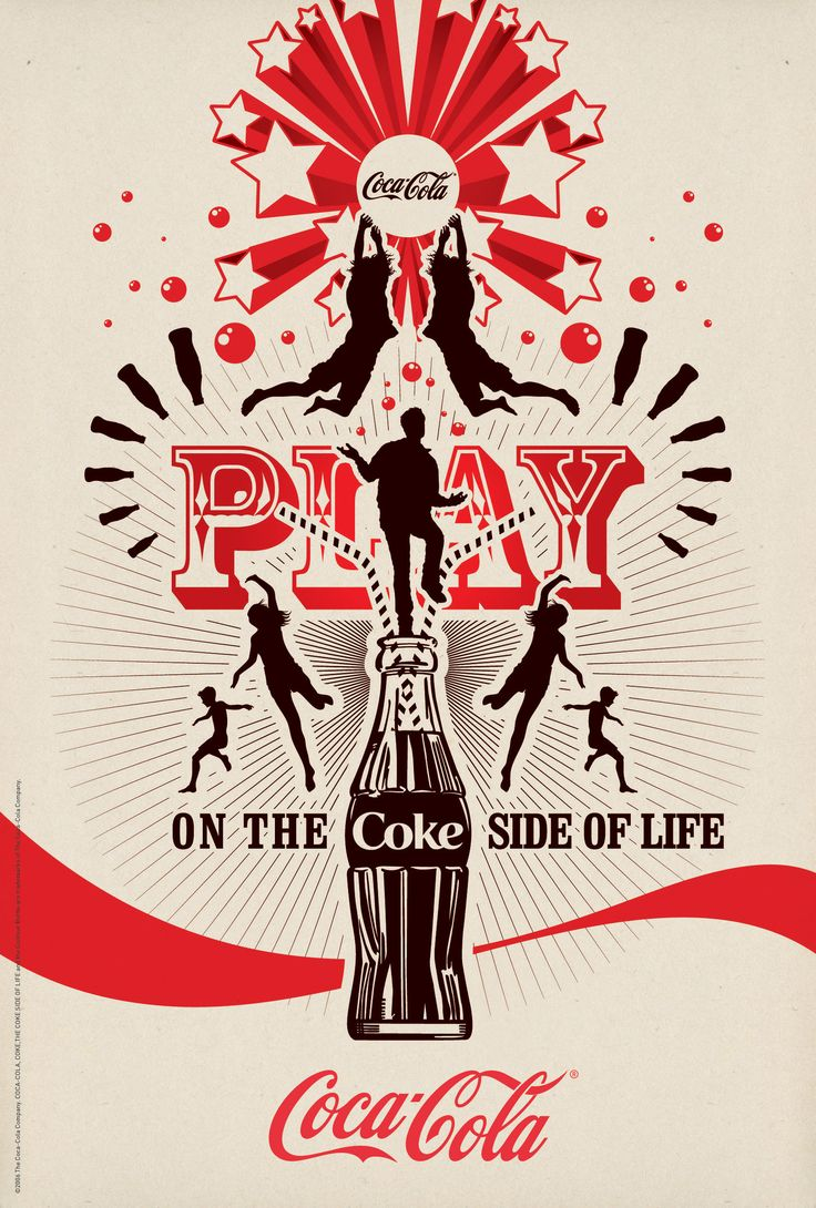 Play on the Coke side of life. The Wonderful Game by Coca-Cola Art Gallery