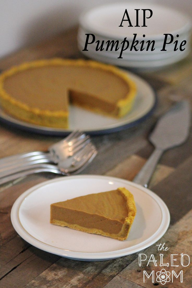 AIP Pumpkin Pie | The Paleo Mom