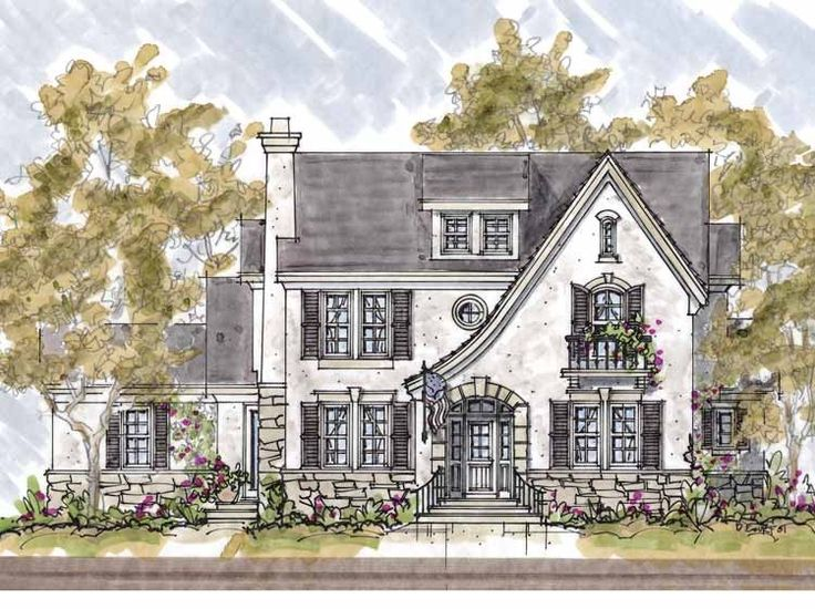 Eplans French Country House Plan   Four Bedroom French Country   3712  Square Feet And 4
