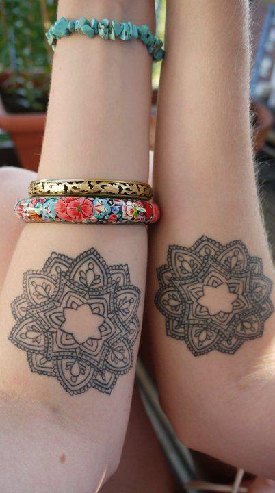 Same Mandala Tattoo