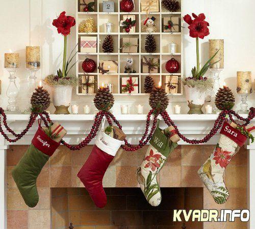 Рождественские украшения от Pottery Barn
