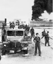 Background information and good explanation of the Suez Crisis of 1956. The ramifications of this event for the world today are stunning to consider.