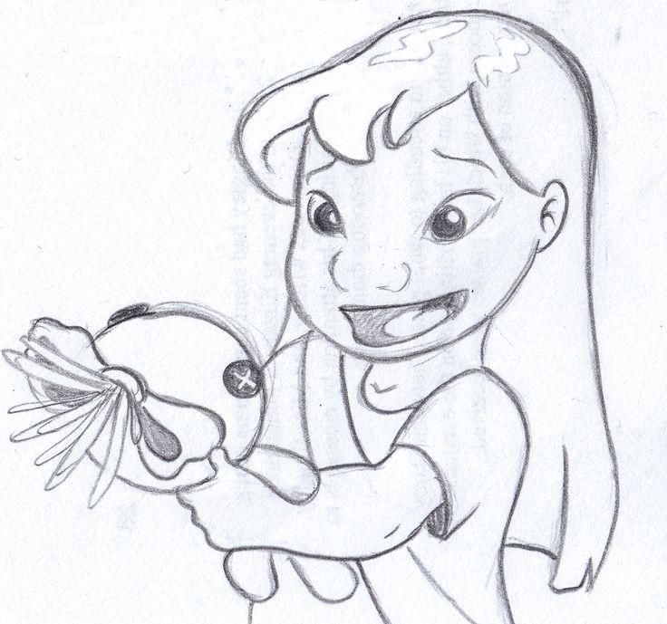 Disney Sketch This Is Scrump Lilo And Stitch Art