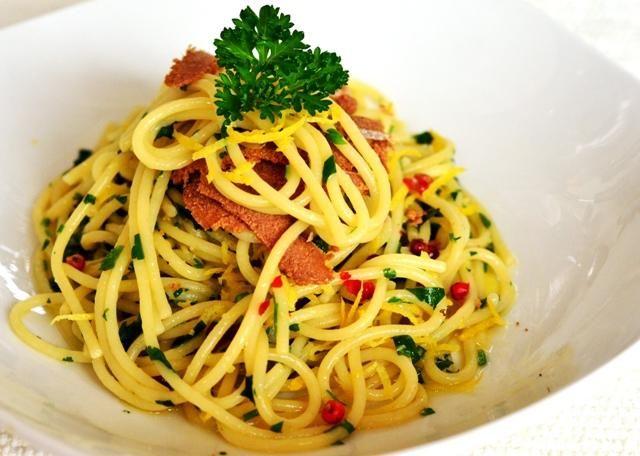 spaghetti alla bottarga – din Sardinia - https://www.dorianradu.ro/recipes/spaghetti-alla-bottarga-din-sardinia/