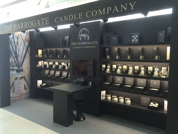 The ladies at The Harrogate Candle Company did the Harrogate home and gift Trade show, this was there amazing looking stand!