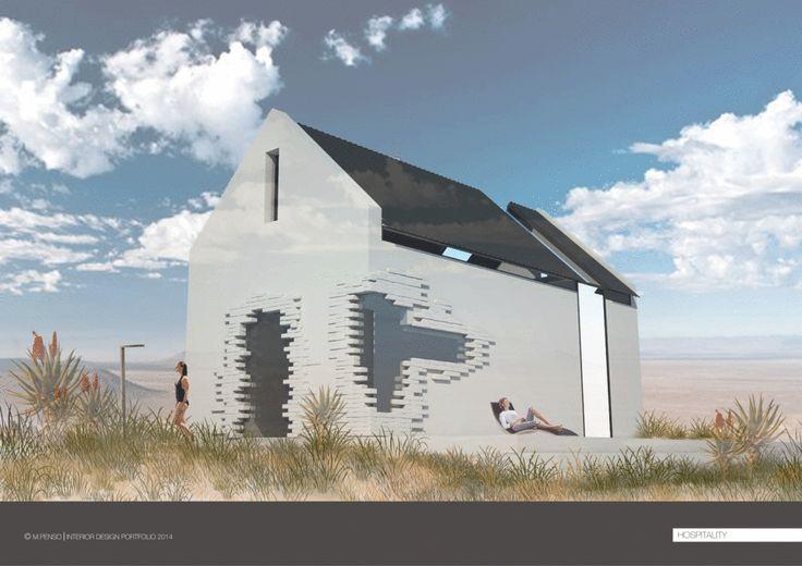PORTFOLIO - Michelapenso #Hospitality #Design #Karoo #Architectural #Concept