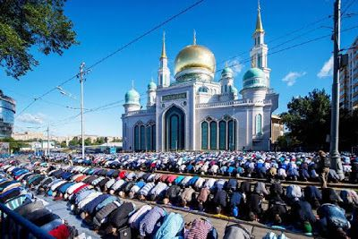 Eid prayers in Russia : Moscow's Muslims change the city   Eid prayers in Russia : Moscow's Muslims change the city.  Eid prayers in Russia Islam Moscow Muslim Russia Russian Muslims World