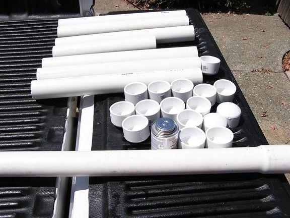 Polar bear tubes DIY cooler ice