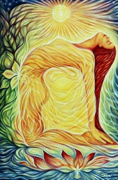 Ustrasana   Arte de yoga, Arte, Arte espiritual
