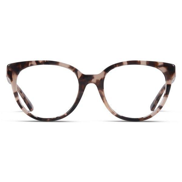 eae8b91e11ab Michael Kors Granada Leopard ($185) ❤ liked on Polyvore featuring  accessories, eyewear, sunglasses, leopard, cat eye glasses, leopard  sunglasses, cat eye ...