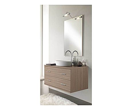 AQUA MOOD: Composizione da parete di elementi per il bagno naturale - 4 pz.