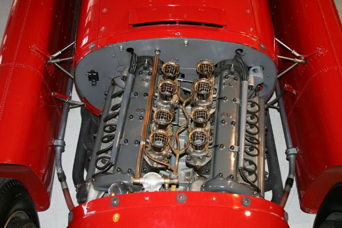 The Engine front view