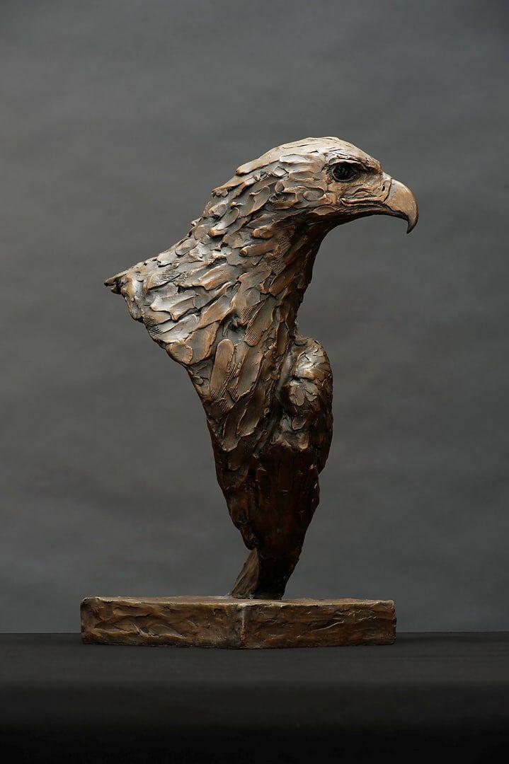 Black Eagle Bust
