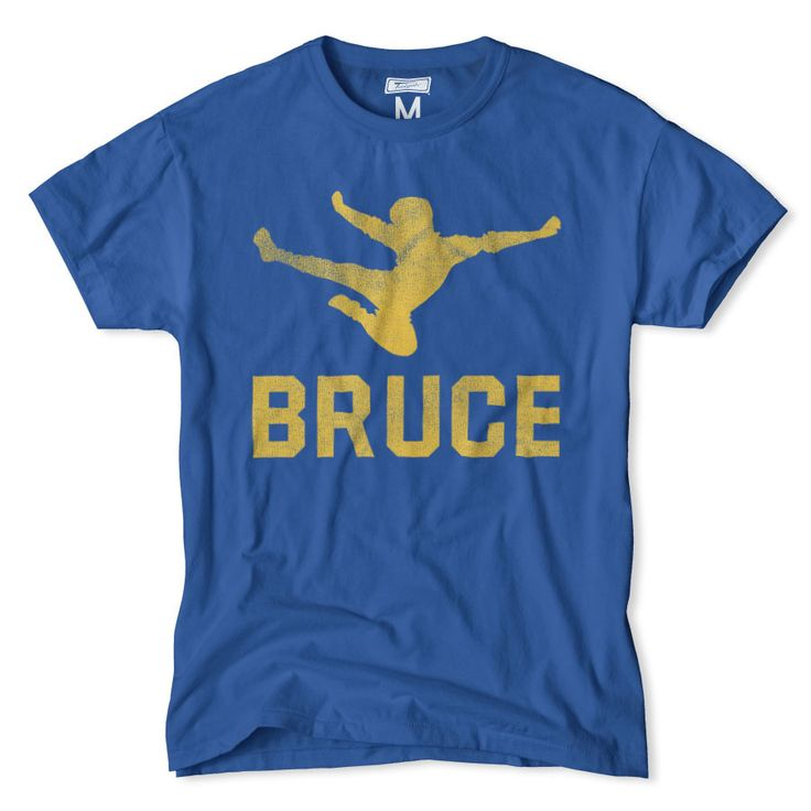 Bruce Lee Flying Kick T-Shirt