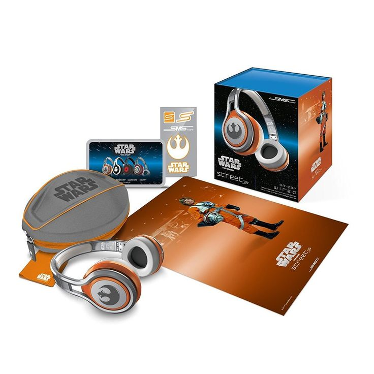 SMS Audio Street By 50 First Edition Star Wars on Ear Headphones Rebel Alliance SMS-ONWD-SW-REBEL