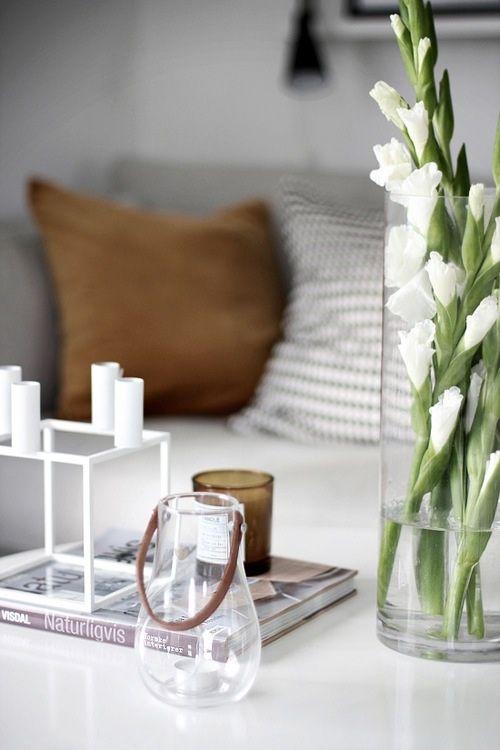 Image result for white flower for living hall