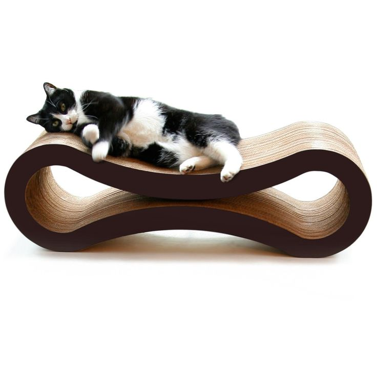 PetFusion Ultimate Cat Scratcher Lounge (Walnut Brown): Amazon.co.uk: Pet Supplies