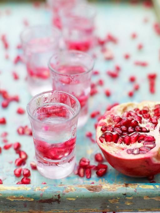 pomegranate shots | Jamie Oliver | Food | Jamie Oliver (UK) #drinks Visit us:http://explodingtastebuds.com/