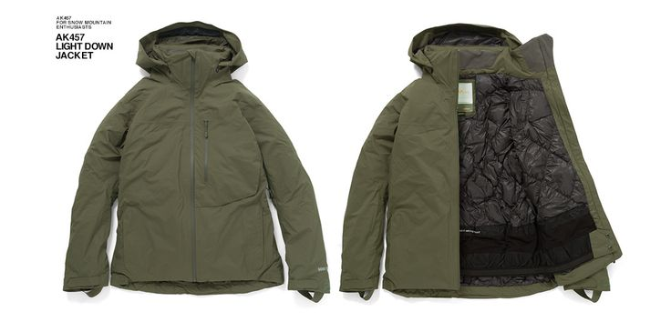 Function / AK457 LIGHT DOWN JACKET