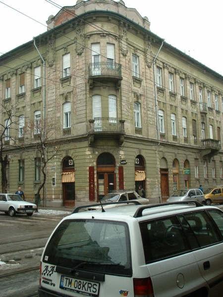 Timisoara street corner.