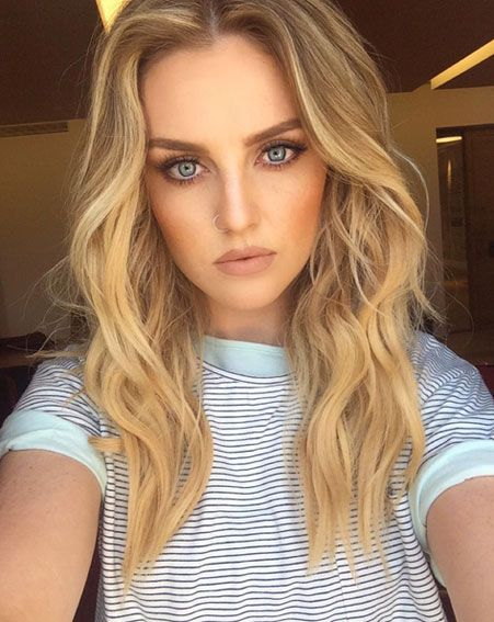 Perrie Edwards shows off dramatic new look in stripped-back selfie ...