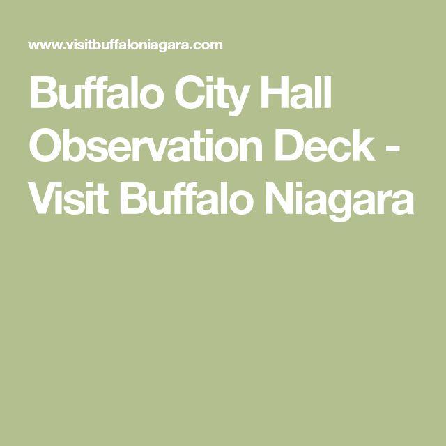 Buffalo City Hall Observation Deck - Visit Buffalo Niagara