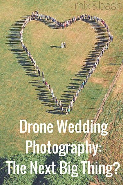 Drones are taking over as the hottest new tech toy on the market. They've pretty much become the next remote control cars, except cooler. Way cooler. They fly, so obviously way cooler. Whether people are using them for fun or for professional reasons, drones have wiggled (or flown) their way into the wedding market. More and more people are getting drone photos taken for their wedding or engagement, and we've got to admit, it's pretty cool. Is this just a fleeting trend or are these pictures…