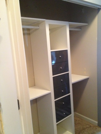 A Dream Closet Makeover Closet Organization Double