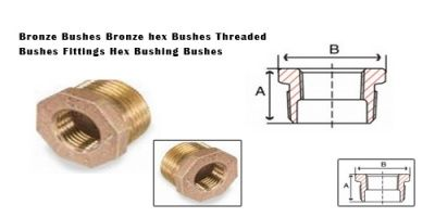 Bronze Bushes Bronze hex Bushes Threaded Bushes Fittings Hex Bushing Bushes #BronzeBushes  #BronzehexBushes  #ThreadedBushesFittings  #HexBushingBushes   We offer a wide range of Bronze bushings Bronze Threaded bushes Bronze reducing bushes Bronze NPT BSP bushes hex bushes  LG2 Bronze Gunmetal bushes. We cast and machined our range of Bronze Bushes and pipe bushings.