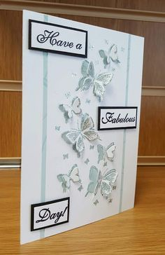 Jackies Craft Creations Butterfly Arch by Stamps by Chloe
