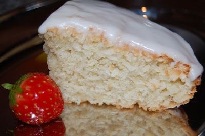 Coconut sponge cake recipe (Fat free)