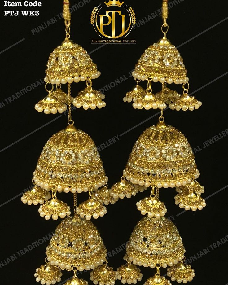"403 Likes, 7 Comments - Punjabi Traditional Jewellery™ (@punjabijewellery) on Instagram: ""Punjabi Traditional  ""Gold & Silver Wedding Kalire""  Item Code - PTJ WK3  For price please inbox…"""