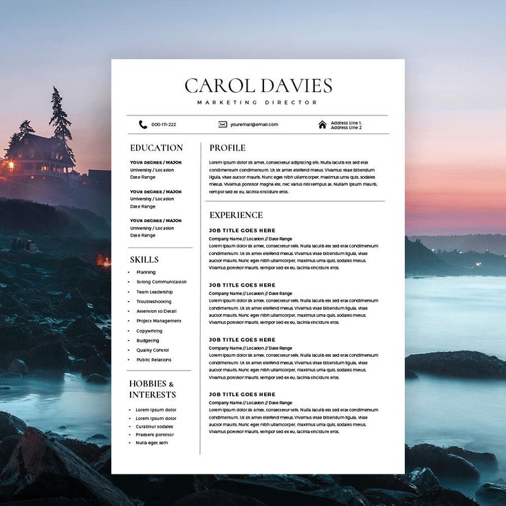 The  Best Resume Templates Ideas On   Resume Resume