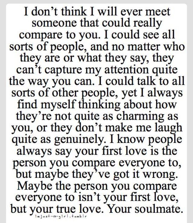 No one can compare