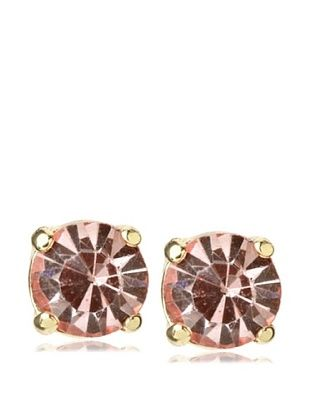 67% OFF Leslie Danzis Peach Four Corner Post Earrings