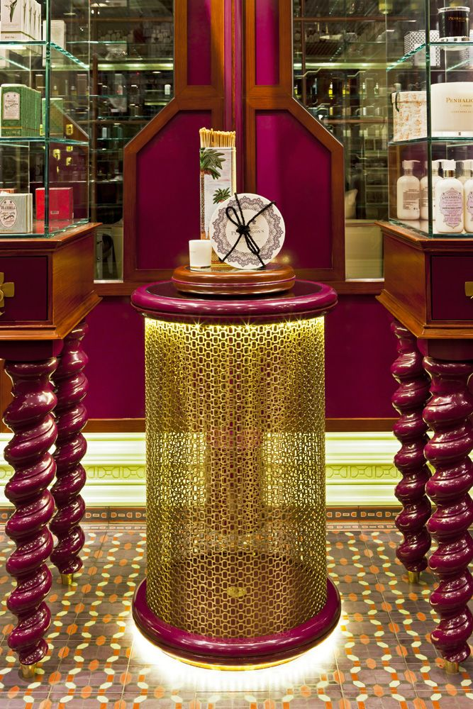 Penhaligons Flagship Boutique / Jenner Studio (4)