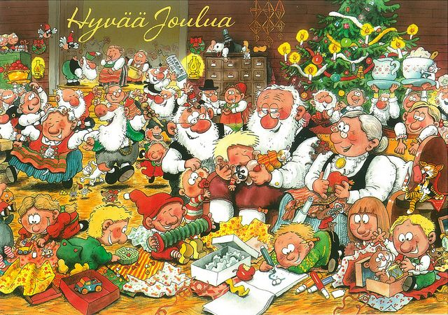 Christmas, mauri kunnas, Finland - Google-