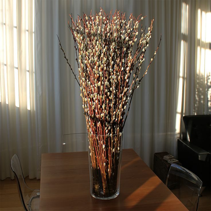 Pussy Willow Centerpieces 77