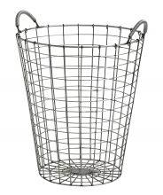 Basket varastointiin, pyöreä, RAW, S | Nordal.eu