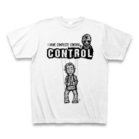 コントロール Tシャツ(ホワイト)