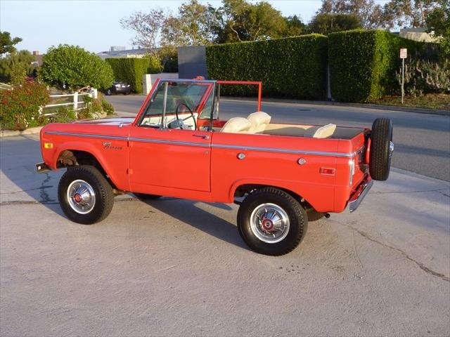 72 UNCUT EXPLORER EARLY 4X4 CLASSIC FORD BRONCO FOR SALE