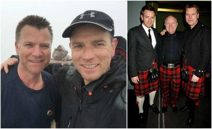 Ewan McGregor's siblings  - brother Colin McGregor