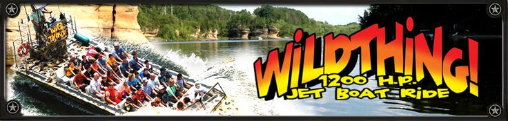 Wisconsin Dells Army Ducks » WildThing Jet boat