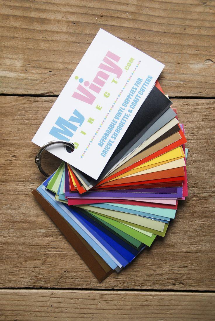 My Vinyl Direct Vinyl Color Samples