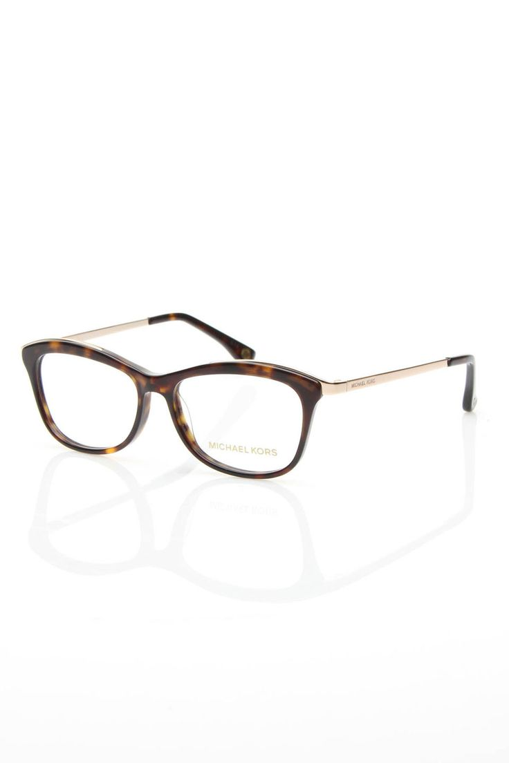 Michael Kors Taylor Eyeglasses In Tortoise. I want these.