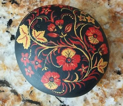 Gorgeous-Large-Hand-Painted-Rock